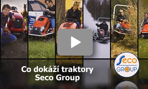 J.V.S.CH. s.r.o. | img žací traktory od Seco Group video